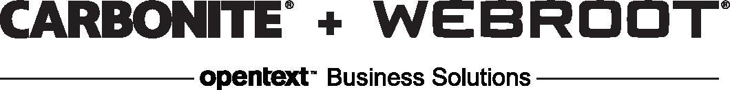 Carobnite + Webroot, OpenText Companies